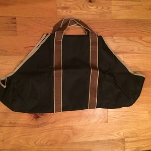Firewood carrier - heavy weight canvas